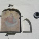 Paveikslas Aušros vartuose iš Bazilijonų g. pusės