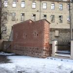 Gynybinės sienos atkarpa L. Gucevičiaus g.