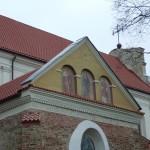Pranciškonų bažnyčios Šv. Lauryno koplyčios frontono freskos